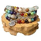 Necklace,7 Chakra Bracelet Tibetan Prayer Mala
