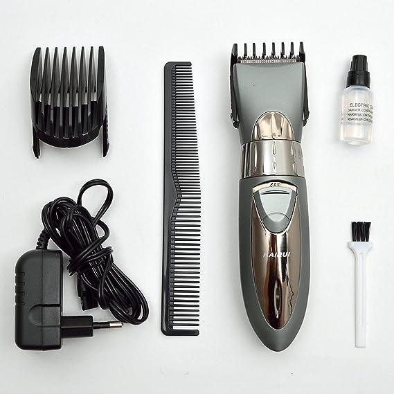 Kairui HC-001 Bateria maquina de cortar pelo - cortadora de pelo ...