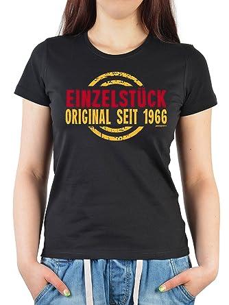 Geburtstags/Jahrgangs-Shirt/ Fun-Shirt Damen: Einzelstück Original seit  1966 schöne