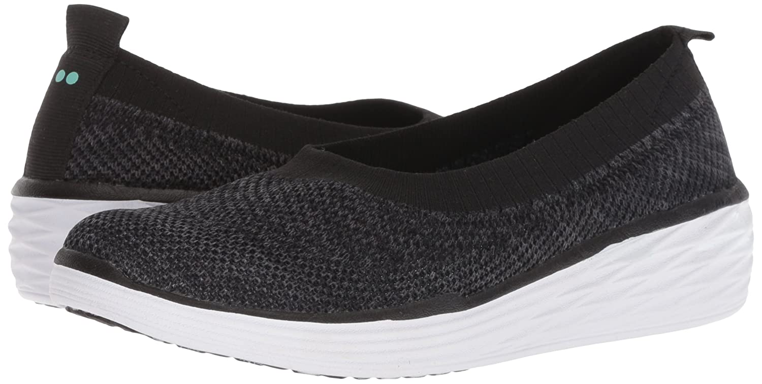 Ryka Women's Nell Walking Shoe B079ZCF12J 10.5 W US|Black/Mint