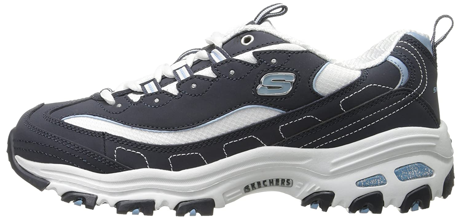 Skechers-D-039-Lites-Women-039-s-Casual-Lightweight-Fashion-Sneakers-Athletic-Shoes thumbnail 32