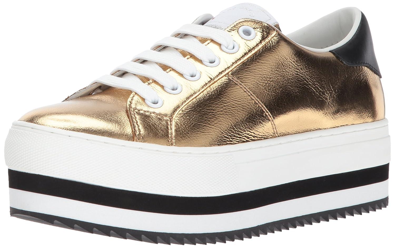 Marc Jacobs Women's Grand Platform Lace up Sneaker B0733C5KG2 39 M EU (9 US)|Gold