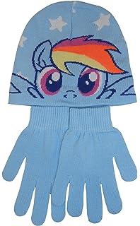 Hunter Price My Little Pony Girls Hat   Gloves Set - Choose Pink or Blue ( d7df14e2644c