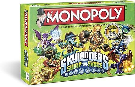 Winning Moves Monopoly Skylanders Swap Force Niños y Adultos Simulación económica - Juego de Tablero (Simulación económica, Niños y Adultos, Niño/niña, 8 año(s), Alemán, Alemán): Amazon.es: Juguetes y juegos