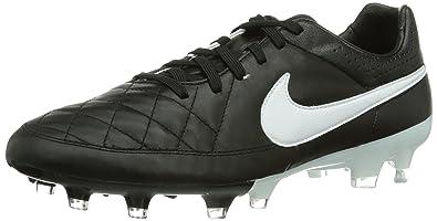 cheap for discount e8a1c 69f9a Nike Tiempo Legacy FG Herren Fußballschuhe, Schwarz (Black/White 010), 40
