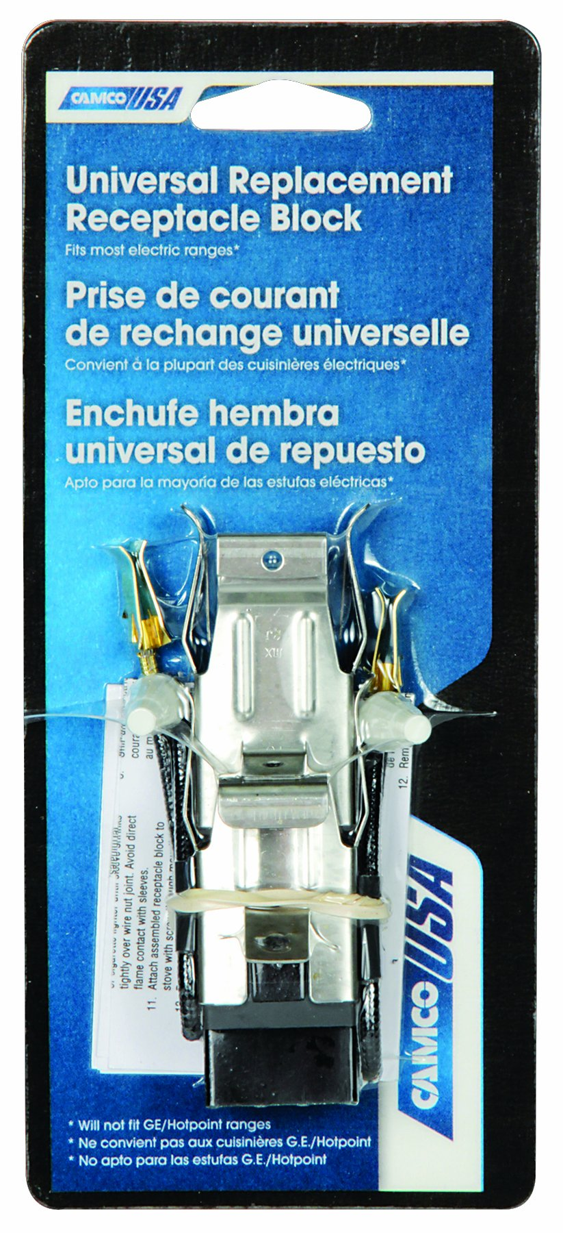 Camco 00873 Universal Receptacle Block Kit