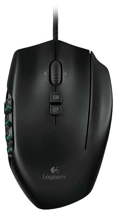 Logitech G600 - Ratón (Laser, USB, 8200 DPI, Negro): Amazon.es: Informática