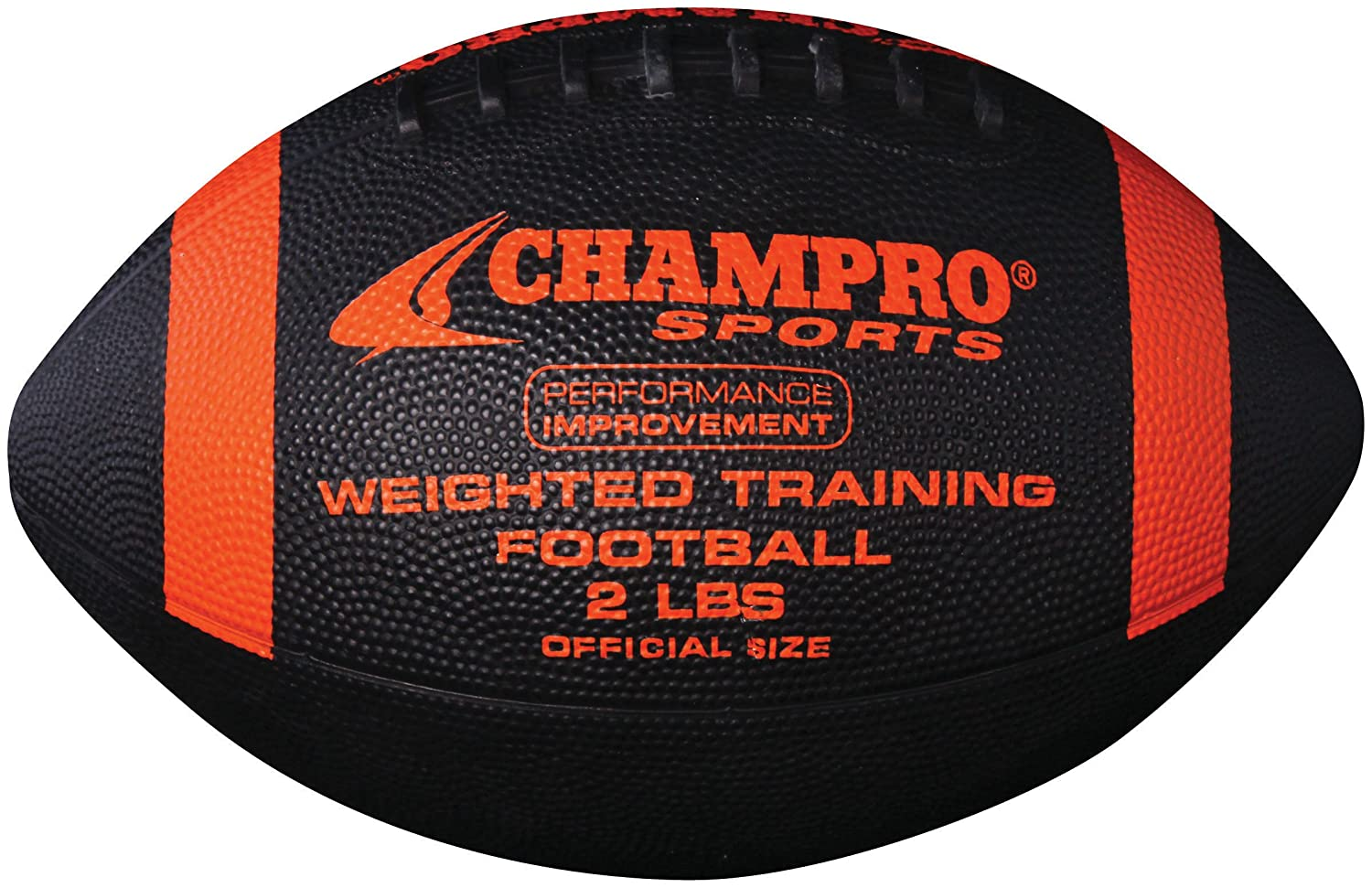 Champro Weighted Football B004HH8ORI ブラック Offcial/2-Pound