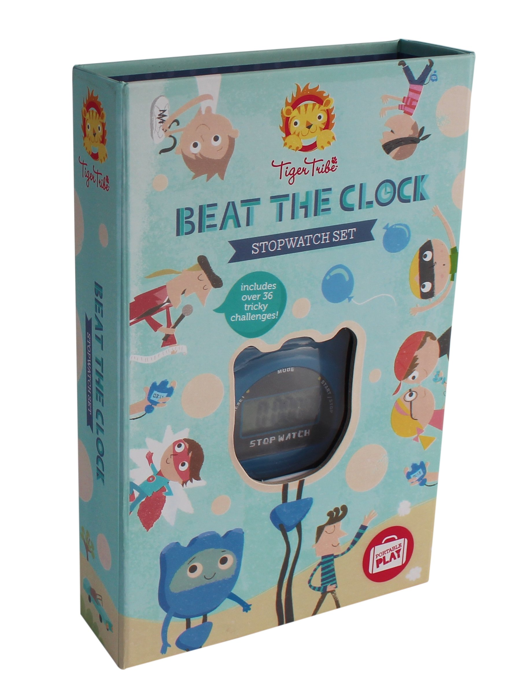 Tiger Tribe Beat the Clock Stopwatch Set Arts and Crafts Kit
