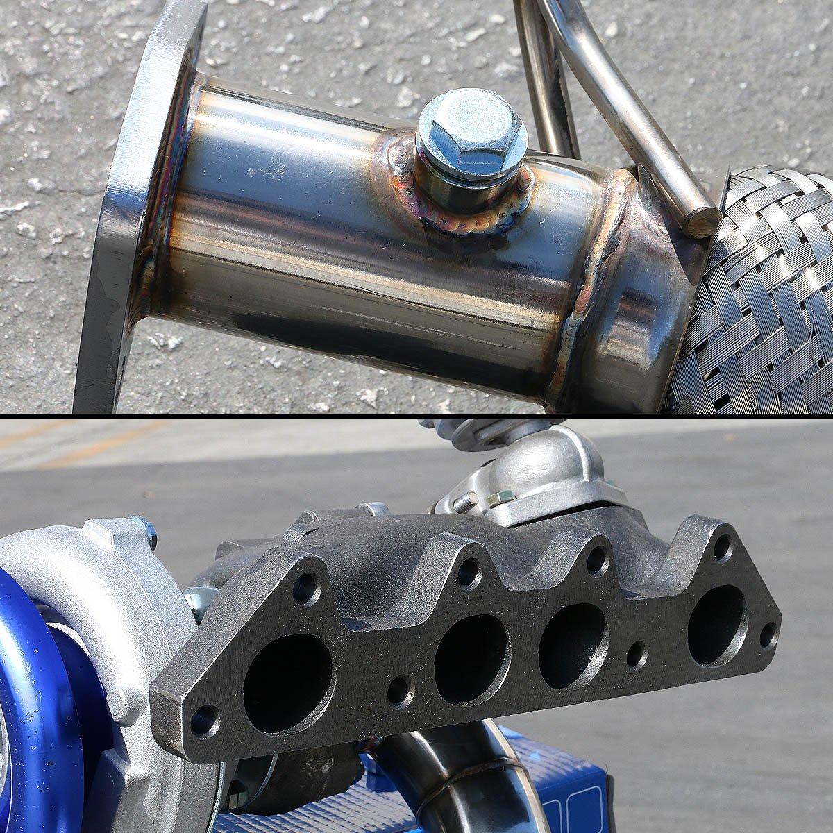 For Honda Accord 4Cyl High Performance 5pcs Cast T04E Turbo Upgrade Installation Kit