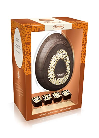 Thorntons Dark Chocolate Orange Egg 321 G