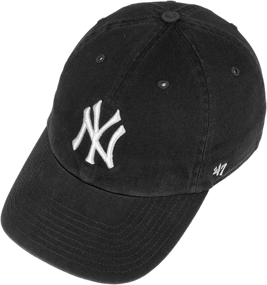 Gorra curva negra para niño de New York Yankees MLB de 47 Brand ...