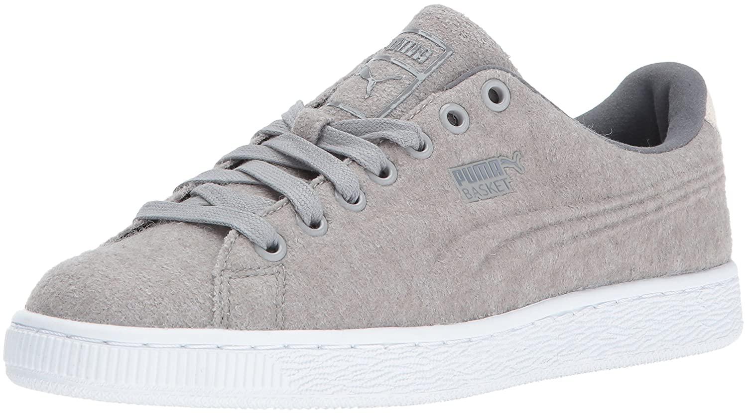 74a002bd898 Puma Men s Basket Classic Embossed Wool Fashion Sneaker