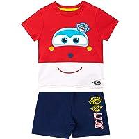 Super Wings Camiseta Conjunto de Top y Shorts para niños Jett
