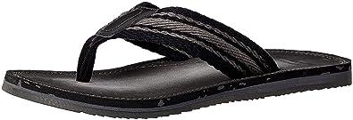 Clarks Men's Leather Flip Flops Thong Sandals Men's Fashion Sandals at amazon