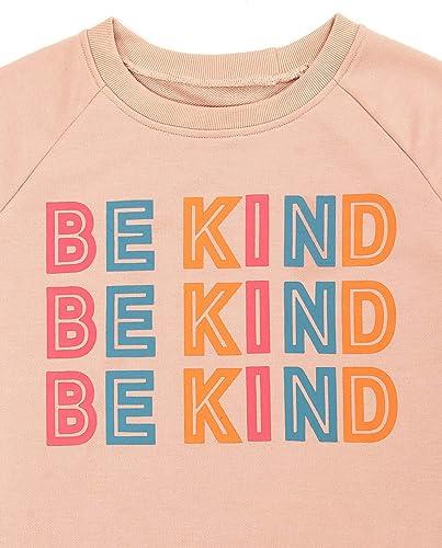 BMJL Maglione da donna con stampa grafica Be Kind