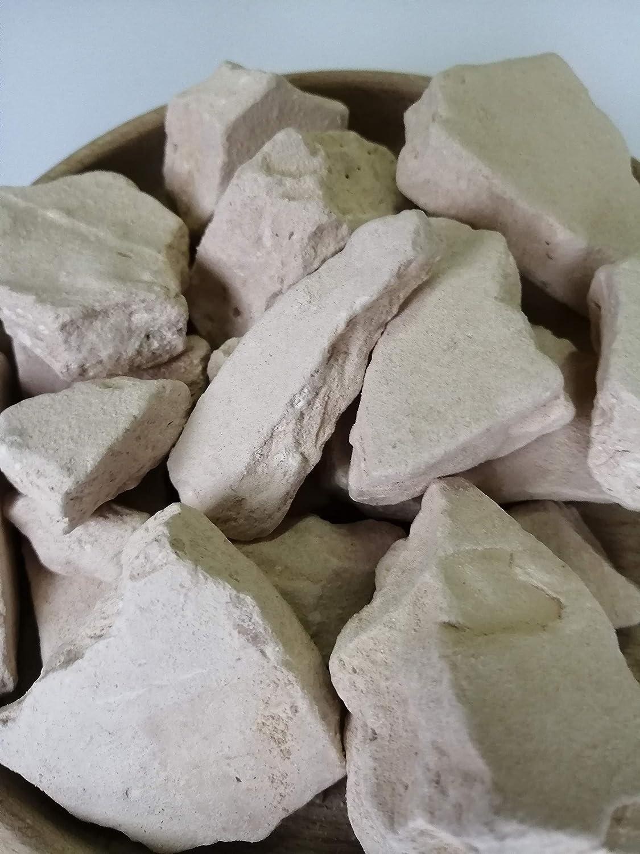 UCLAYS PINK Clay arcilla comestible arcilla alimentos grumos arcilla rosa arcilla comestible natural para comer 450 g