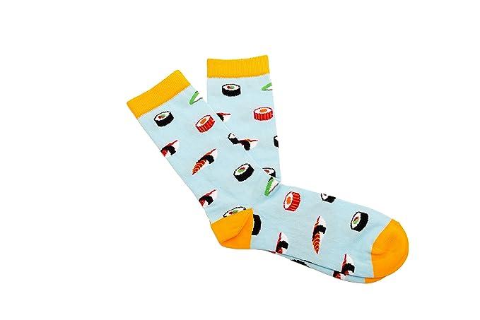 Calcetines Originales - Calcetines de sushi de algodón peinado, unisex: Amazon.es: Ropa y accesorios