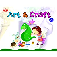 Gikso Art and Craft A – Activity Book for Kids Age 3-6 Years Old
