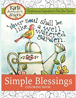 Simple Blessings Coloring Designs To Encourage Your Heart