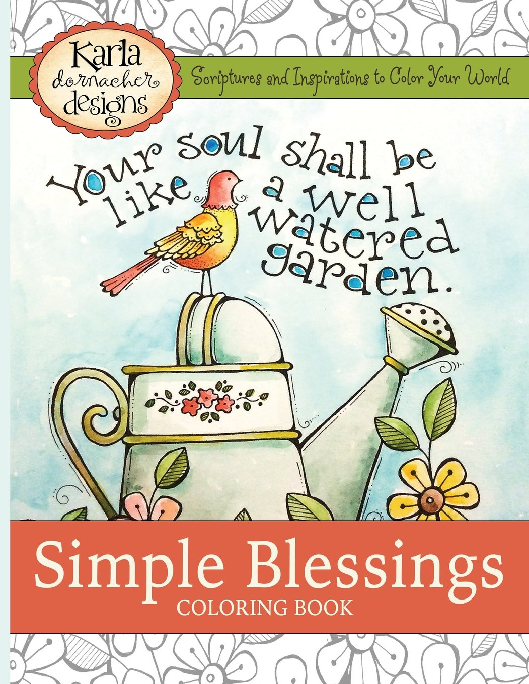 The coloring book tour opener - Simple Blessings Coloring Designs To Encourage Your Heart