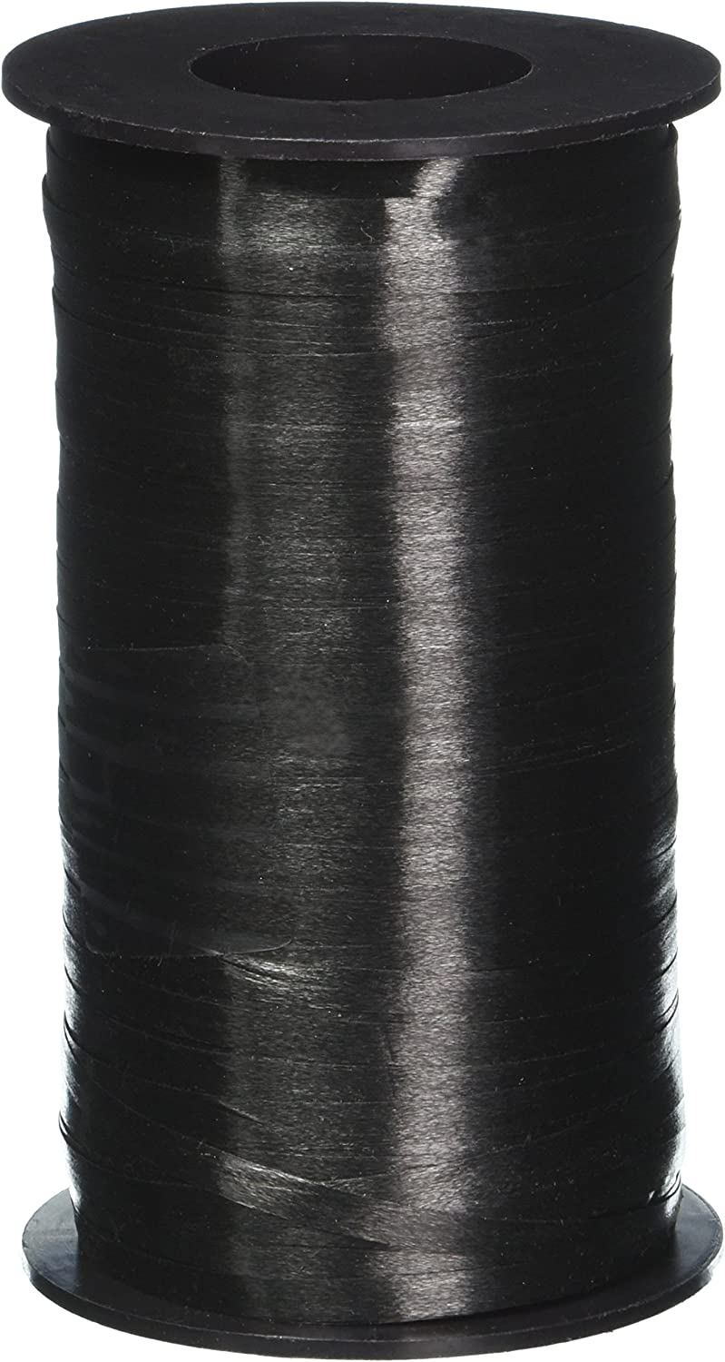 Berwick 3/16-Inch Wide by 500 Yard Spool Splendorette Uncrimped Curling Ribbon, Black: Arts, Crafts & Sewing