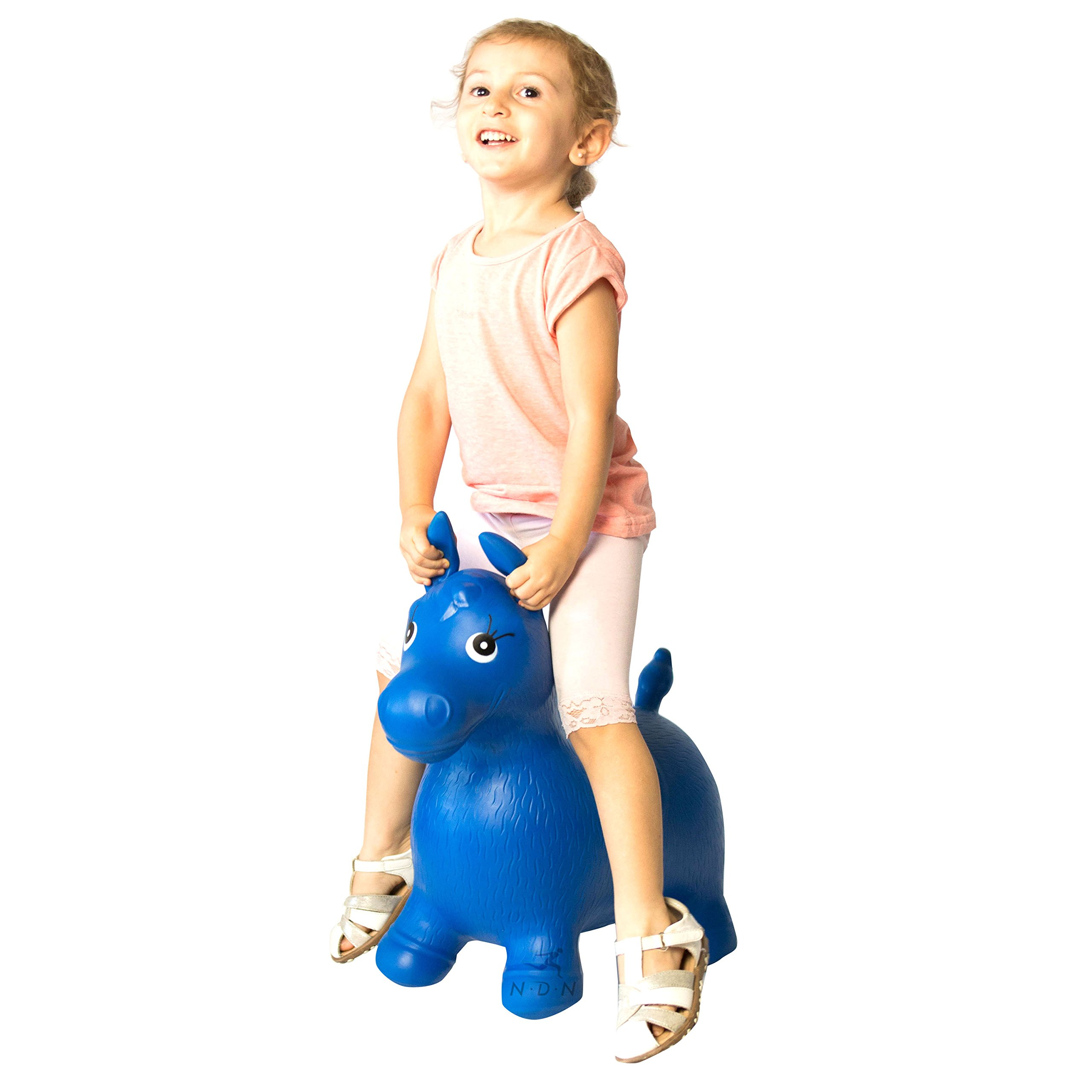 Bouncy animal, bouncy horse inflatable with pump by NDN LINE (Image #3)