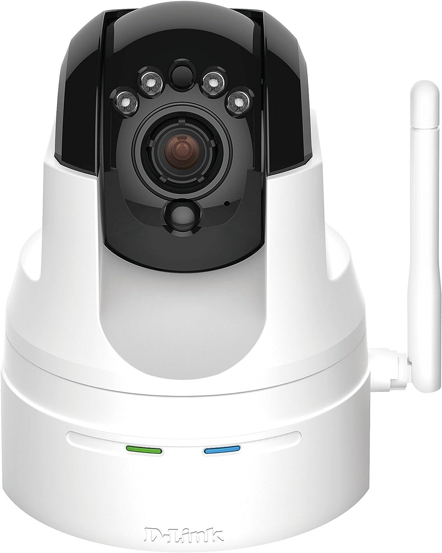 D-Link DCS-5222L HD Pan & Tilt Wi-Fi Camera (White)