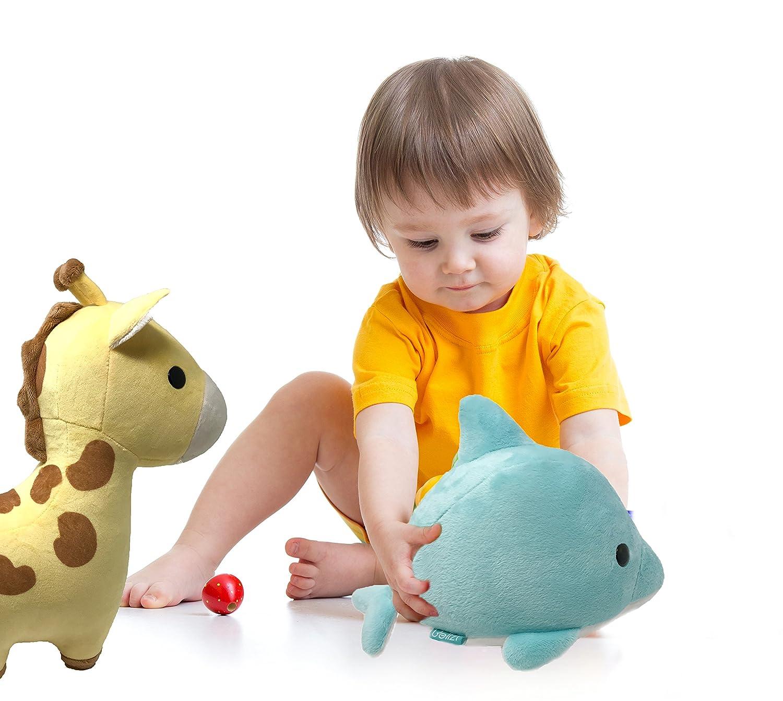 Amazon Bellzi Yellow Giraffe Stuffed Animal Plush Toy