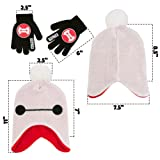 Disney Boys' Little Big Hero 6 Hat and Gloves Cold