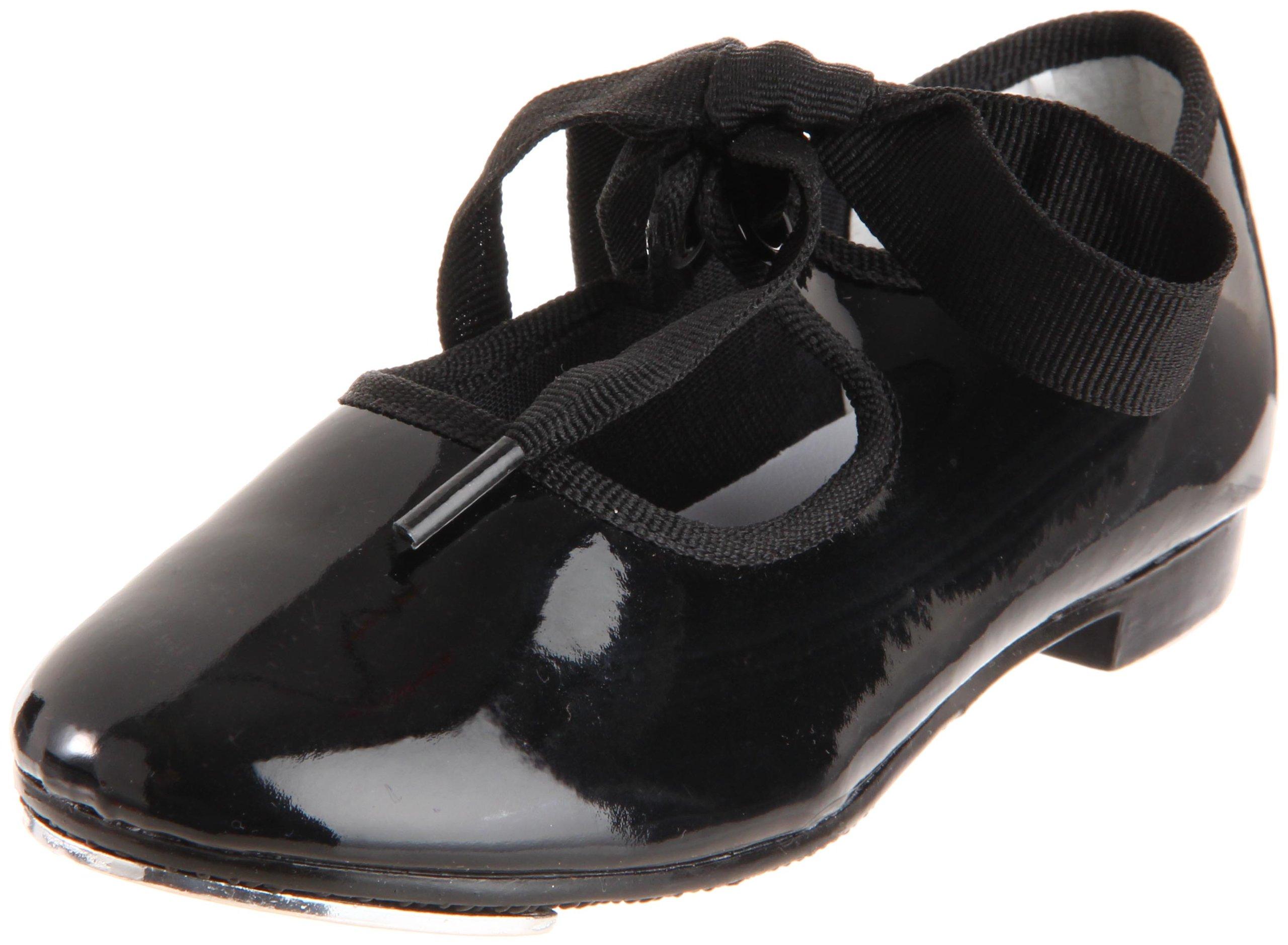 Dance Class T100 Flexible Tap Shoe (Toddler/Little Kid),Black,10 M US Toddler