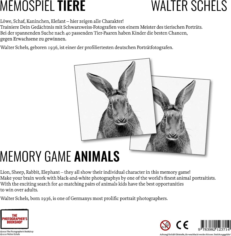 Fotografenverlag Tiere Memospiel Walter Schels