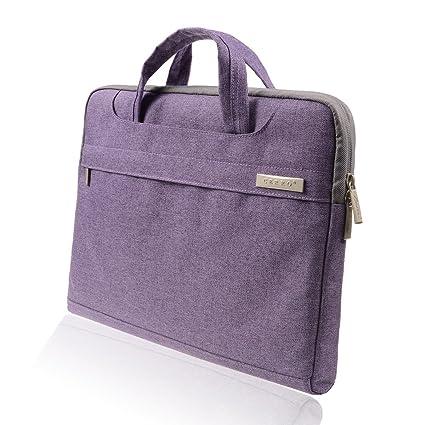 742d7280a961 BingGoGo 15.6 Inch Canvas Waterproof Laptop Messenger Bag Case  Sleeve,Compatible 15-15.6 Inch Notebook