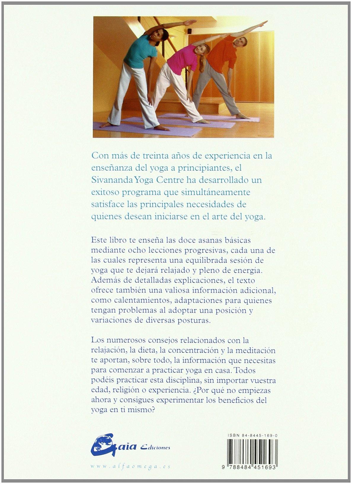 Sivananda: Yoga, Guía Para Principiantes: Sivananda Yoga ...