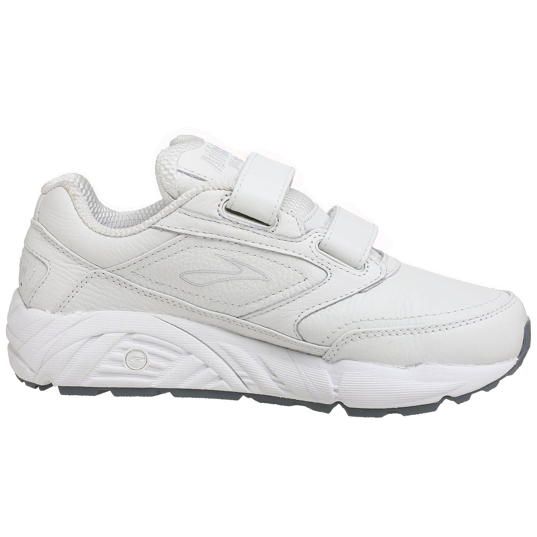 Amazon.com   Brooks Women's Addiction Walker V-Strap Walking Shoe, White,  5.5 B   Walking