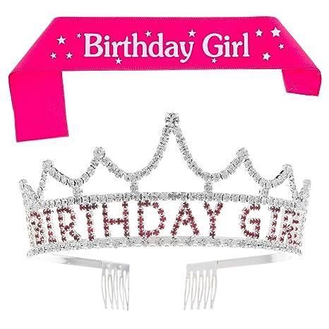 Birthday Girl Sash Party Celebrate,