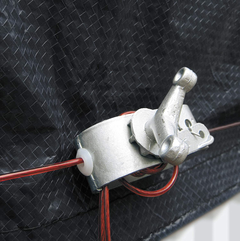 Gre CIPROV1001 - Cobertor de Invierno para Piscina Ovalada de 1000 ...