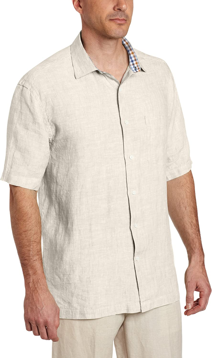 Alex Cannon Mens Short Sleeve Solid Polo