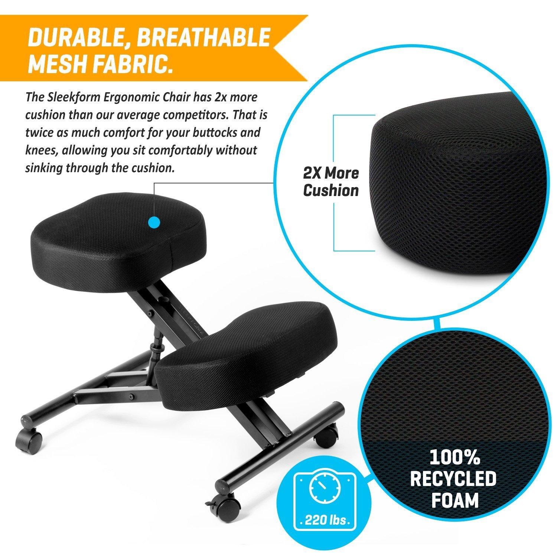 Amazon Ergonomic Kneeling Chair Adjustable Stool Double