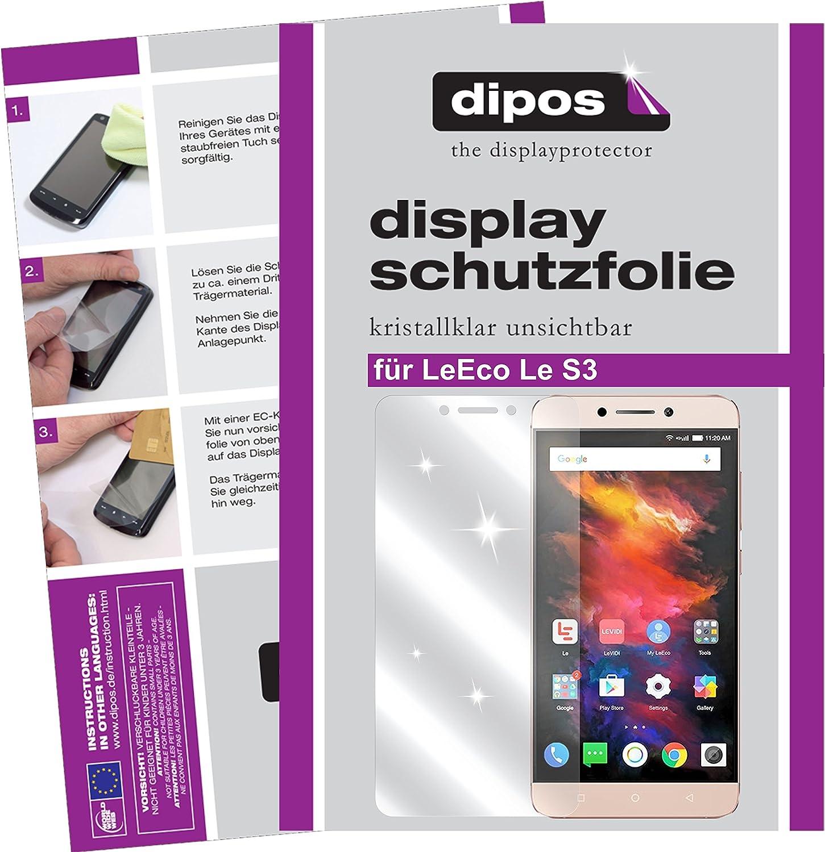 dipos I 6X Protector de Pantalla Compatible con LeEco Le S3 pelicula Protectora Claro: Amazon.es: Electrónica
