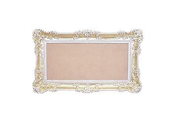 idea casa spiegel spiegel gross gold weiss bilderrahmen barock venezianische fake vintage cm 96 x 56
