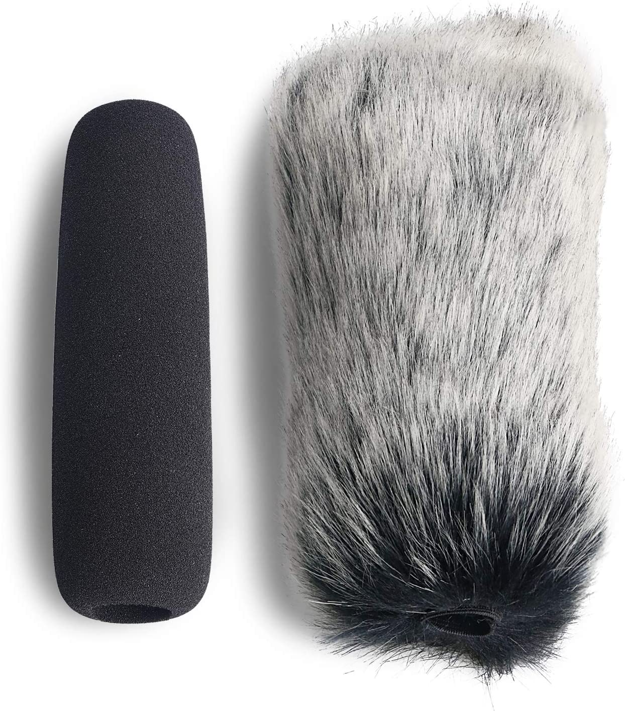 YOUSHARES VideoMic Furry Windscreen NTG2 NTG1 and WSVM Microphone Outdoor Wind Cover Muff Mic Windshield Fur Filter for Rode VideoMic