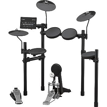 amazon com yamaha dtx450k customizable electronic drum kit musical