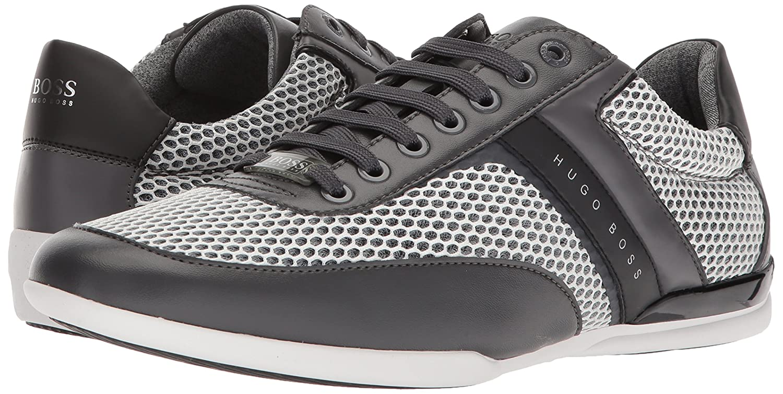 36c6e6a3a5d Amazon.com  Hugo Boss BOSS Green Men s Space Low Profile Sneaker-Mix  Materials