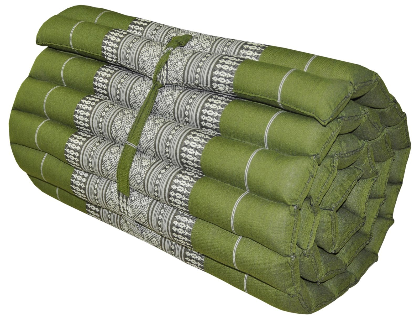 Noinoi@roll up Thai Mattress Kapok (small, Green) by NOINOI