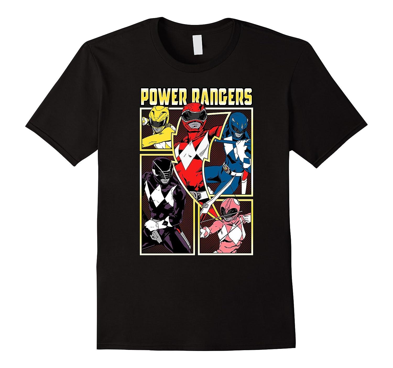Power Rangers Vintage Team Battle T-Shirt-RT