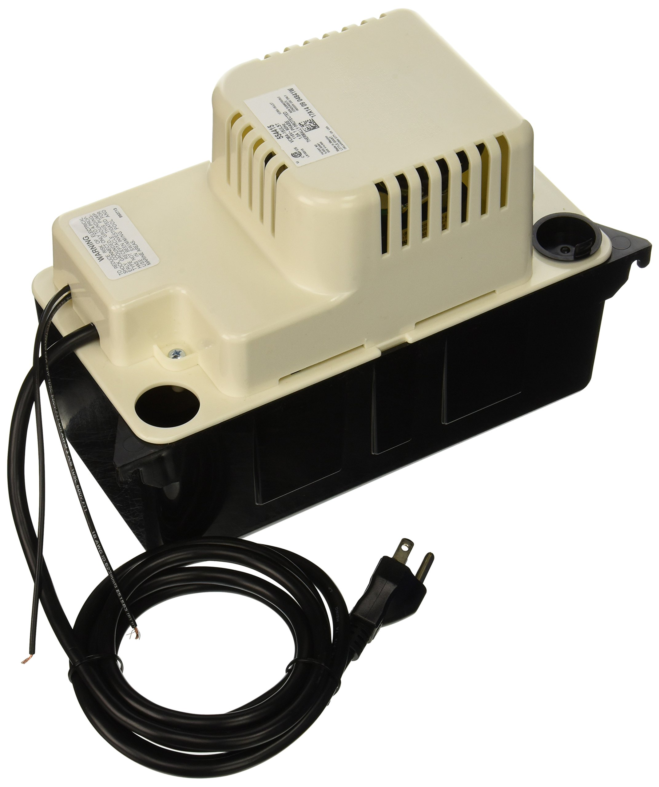 Little Giant 554415 65 GPH 115V Automatic Condensate Removal Pump with Safety Switch and 20ft. Tubing by LITTLE GIANT (Image #2)