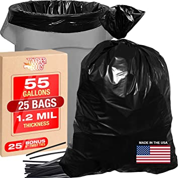 25 Extra Heavy Duty Rubble Sacks Builders Waste Rubbish Bags