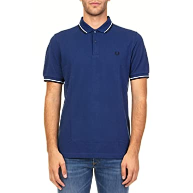 Fred Perry Luxury Fashion Hombre FPM360027126 Azul Polo ...