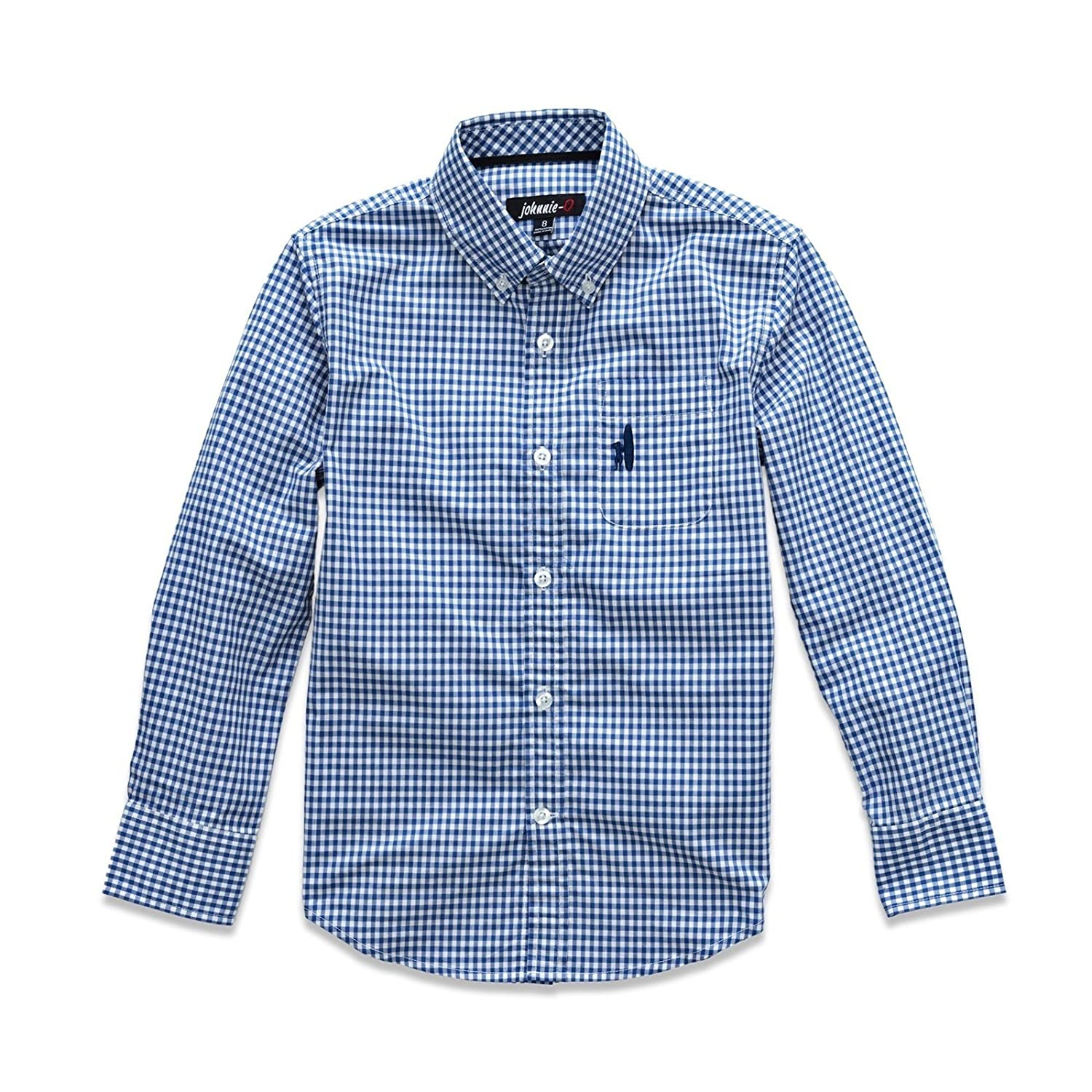 Size 6 Button-Down Shirt in Shadow The Berner Jr